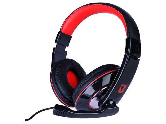 iBoost Stereo PC Gaming Headset w/Boom Microphone & Inline Volume Control