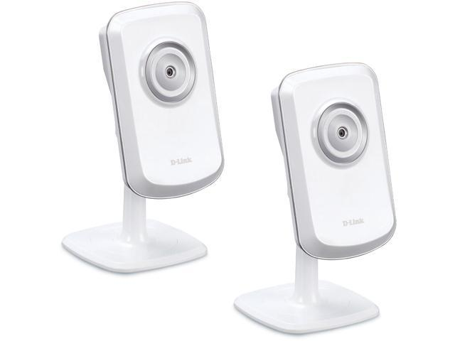 D-Link DCS-930L Wireless-N Network Surveillance Camera W/ iPhone Viewing - 2-PACK