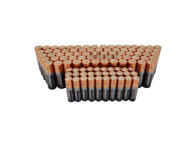 Duracell 70 AA & 30 AAA Pack Duralock Long Lasting Copper Top Alkaline Batteries