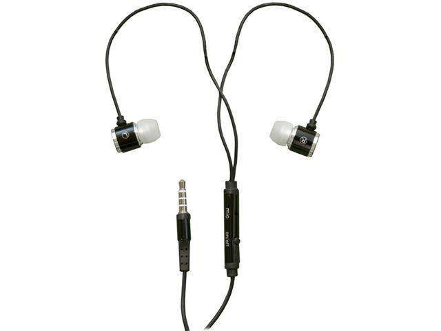 RND Noise Reducing Ear Buds with built-in microphone (black)