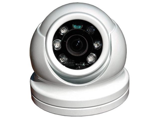 IRIS INNOVATIONS LTD IM-DND-60 Surface Mount Domed Color Camera with Built In Infrared LED Illumination for Low Light Conditions - White