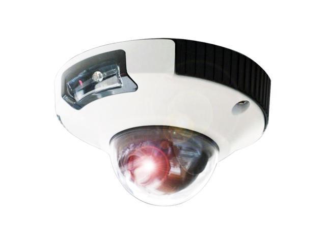 Iris Hi-Def 3MP IP Mini-Dome Camera NTSC w/MSD Storage