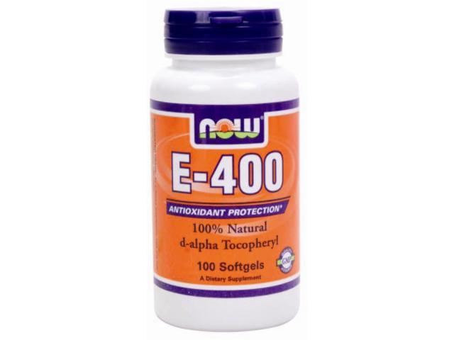 E-400 IU - Now Foods - 100 - Softgel