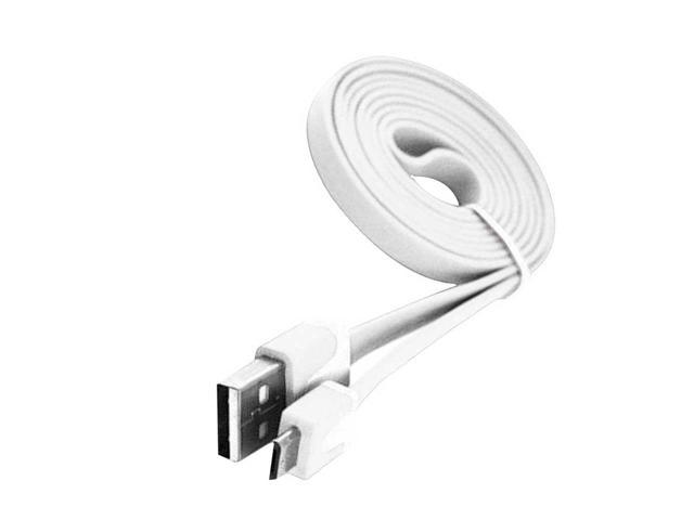 USB 2.0 High Speed Data Transfer & Charge Cable For Samsung/ Sony/ HTC/ LG/ Google Nexus S - White