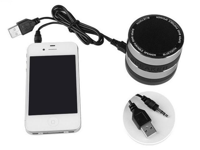 Bluetooth Wireless Speaker Mini Portable LED Light For Samsung Galaxy S5 S4 S3 iPhone 5 4 3 HTC LG Sony