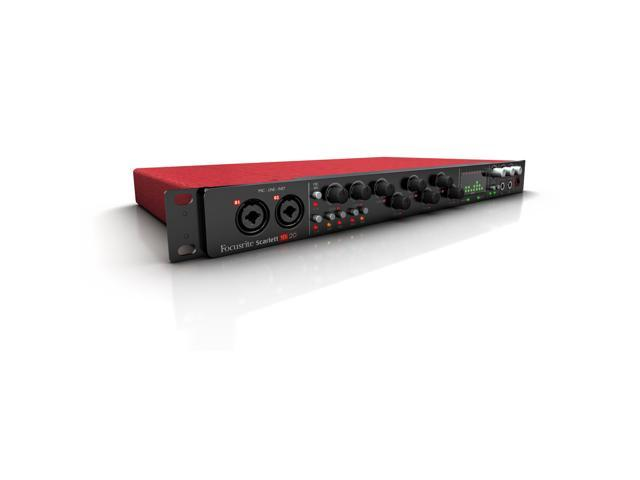 Focusrite Scarlett 18i20 USB Audio Interface w/ Eight Microphone Preamps