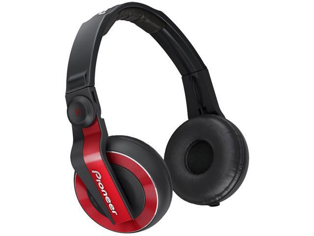 Pioneer HDJ-500 DJ Headphones - Red