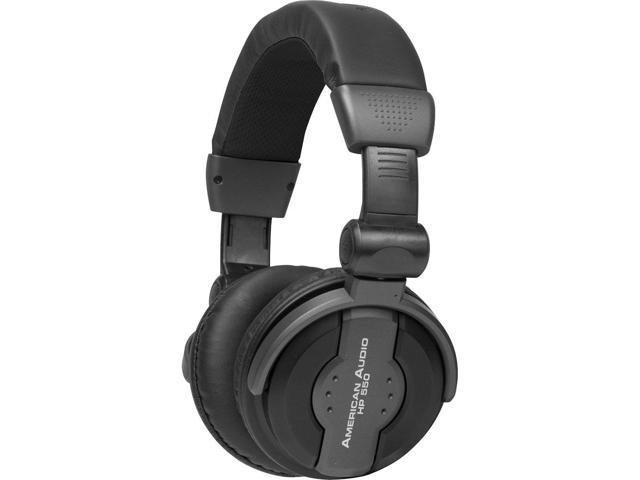 American Audio HP550 Pro DJ Headphones (Black)