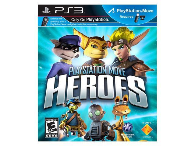 MOVE Heroes BRAND NEW Sony Playstation PS3 Game