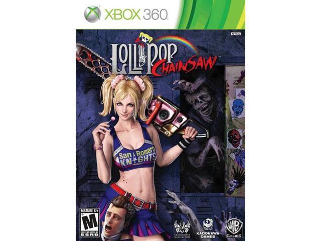 Lollipop Chainsaw Microsoft XBOX 360 Game