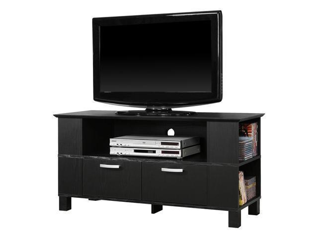 44 in. Coronado Wood TV Console - Black