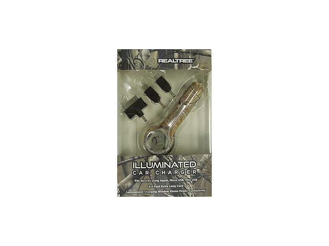 Absolute Eyewear Solutions Realtree Camo Multi Tip Car Charger