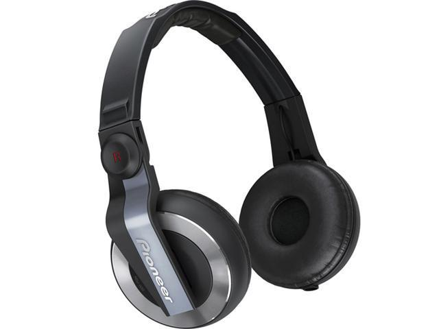 HDJ-500R Professional DJ Headphones (Black & Gray)