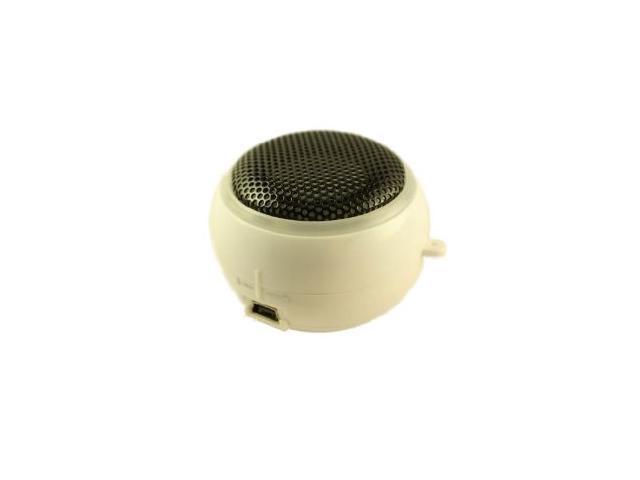 Mutant Yo-Yo Portable Speaker for iPhone, iPods & More - White (MIGPS1-3)