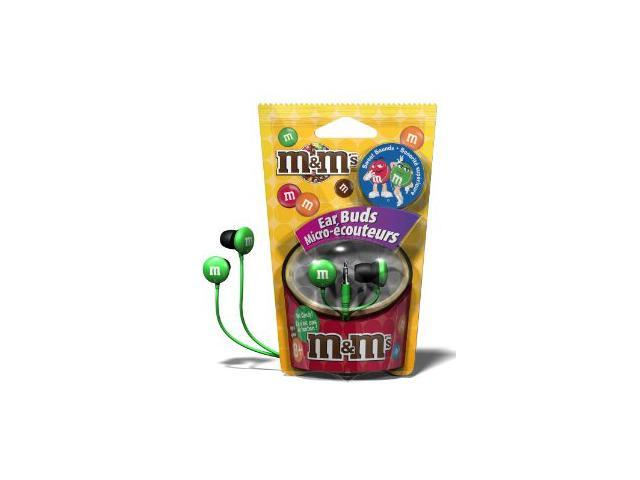 Maxell M's Stereo Ear Buds - Green