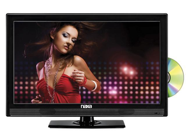 16 Inch Naxa NTD-1554 12 Volt AC/DC LED 1080i Digital HDTV W/ DVD Player