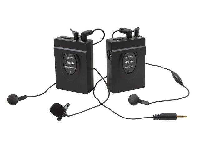 2.4GHz 2-Way Wireless Microphone System (with Hip Clips & Camera Mount) (600120)