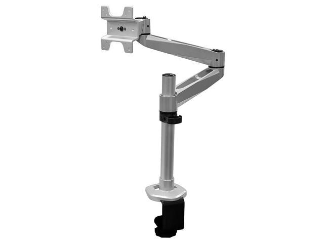 Aluminum Full Motion Desk Mount for Apple Displays(Max 33Lbs) - Silver (9259)
