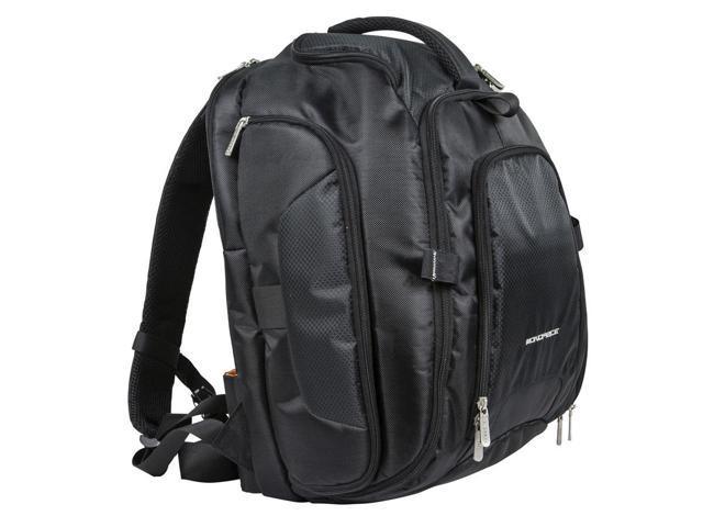 DSLR Camera/15.6 inch Laptop Backpack - Black (11747)