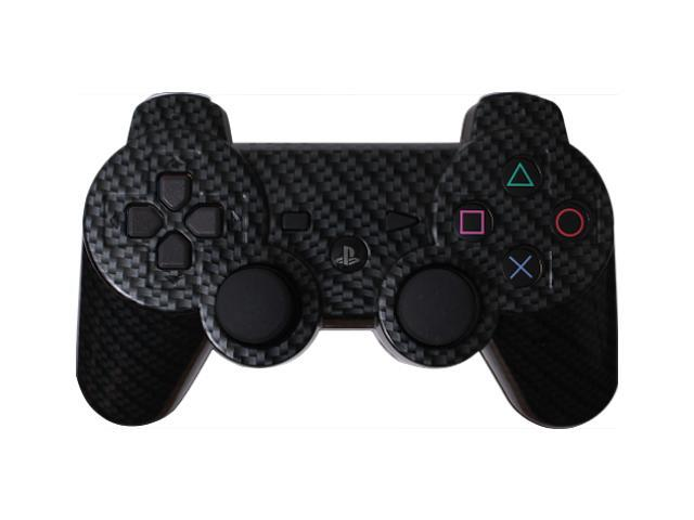 Custom PS3 Controller - Black Silver Carbon Fiber PlayStation 3 Controller