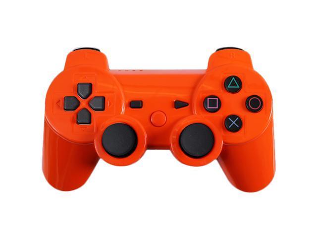 Custom PS3 Controller - Glossy Orange PlayStation 3 Controller
