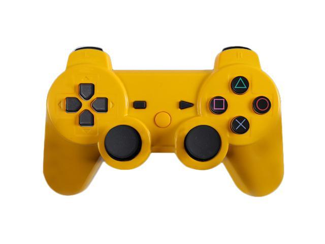 Custom PS3 Controller - Glossy Yellow PlayStation 3 Controller