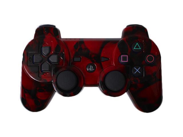 Custom PS3 Controller - Red Skullz PlayStation 3 Controller