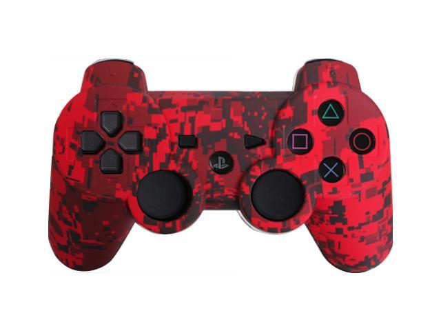 Custom PS3 Controller - Red Urban PlayStation 3 Controller