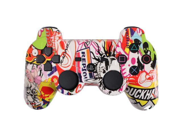 Custom PS3 Controller - Sticker Bomb PlayStation 3 Controller