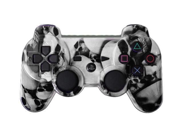 Custom PS3 Controller - White Skullz PlayStation 3 Controller