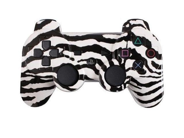 Custom PS3 Controller - White Zebra PlayStation 3 Controller