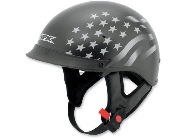 AFX FX-72 Stealth Helmet Flat Black Stealth 2XL