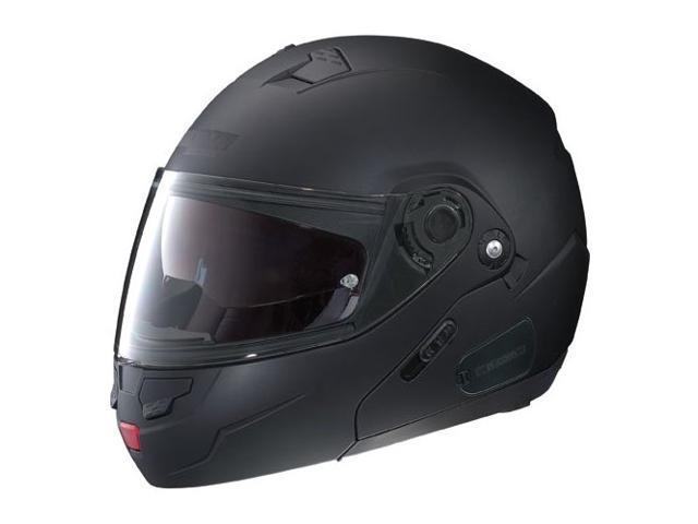 Nolan N90 N-Com Solid Modular Helmet Flat Black XS