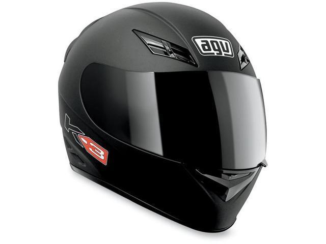 AGV K3 Solid Street Helmet Flat Black MD