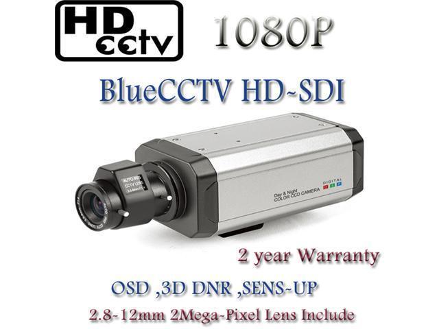 HD-SDI Box Camera, 2.1 Mega-Pixel 1080P Full HD, Cmos 2.8-12mm