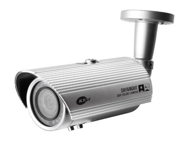 KTnC KPC-N500NH10 IR Bullet Camera with OSD 600 TVL 3D DNR 20LEDS 100FT Sens-up Dual power