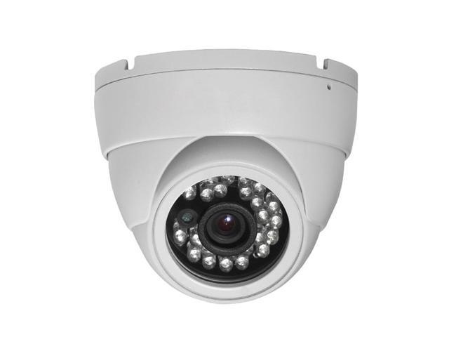 HD-SDI Outdoor Turret Dome IR camera: 2 Megapixel Full HD 1080p image, 3.6mm OSD Dual Video (White Color)