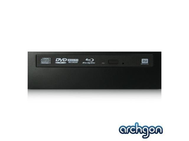 Archgon Tray-loading Internal Blu-ray Burner with One Bay for 2.5