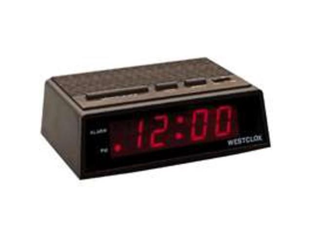 Westclox 22690 Startime Digital LED Wood Alarm Clock