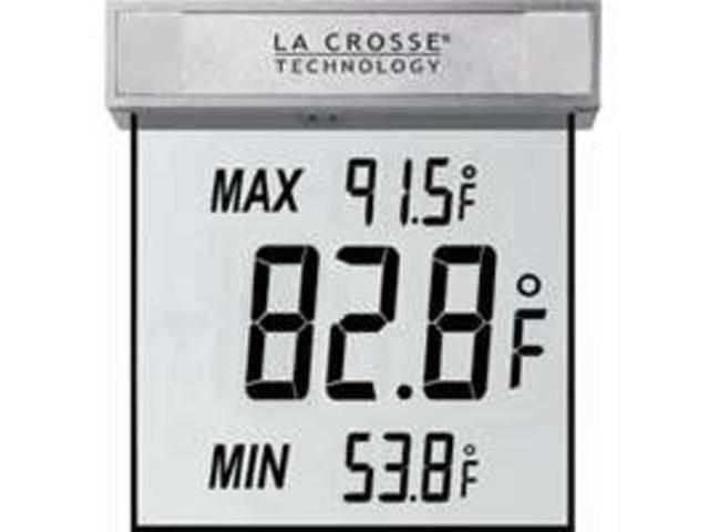 Window Thermometer LA CROSSE TECHNOLOGY Thermometers/Clocks WS1025 757456993881