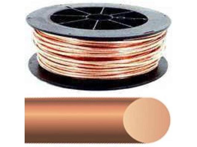 Wire Elec 4Awg Cu 200Ft 170A SOUTHWIRE COMPANY Lamp Cord 4SOLX200BARE Copper