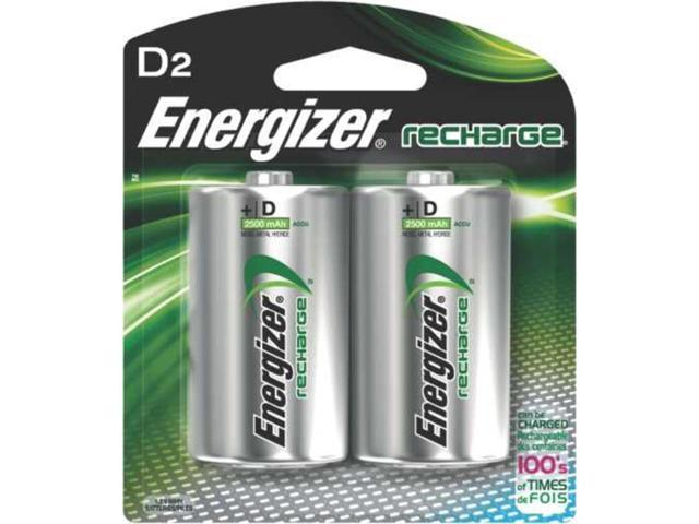 Rechargeable D Battery 2 Pk Eveready Handheld Flashlights NH50BP-2 039800080073