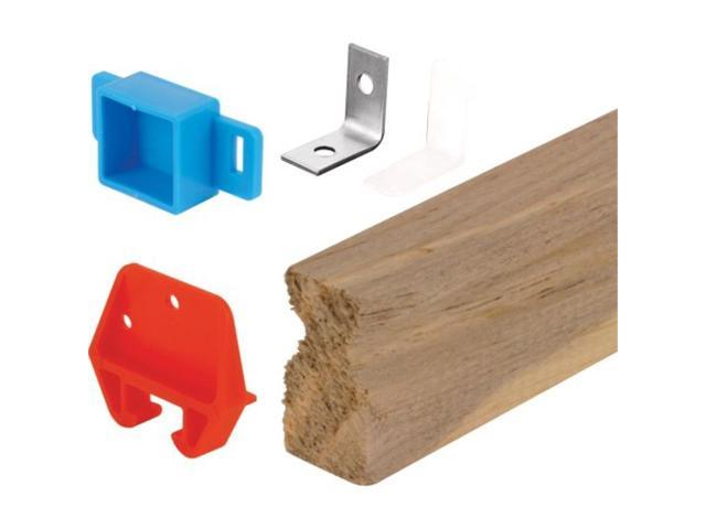 Prime Line Products R7144 Drawer Track Repair Kit Wood
