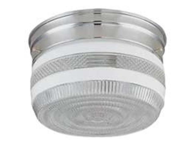 Boston Harbor F14CH02-80023L Flush Mount Ceiling Light Fixture, Polished Chrome