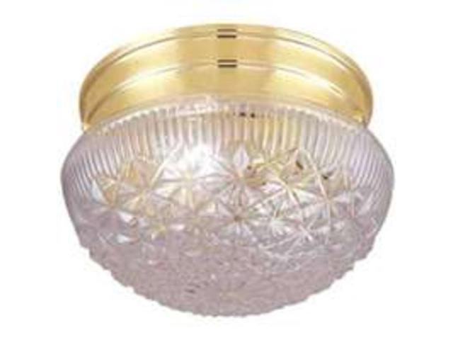 Boston Harbor F13BB01-68583L Single Light Flush Mount Ceiling Fixture, Brass