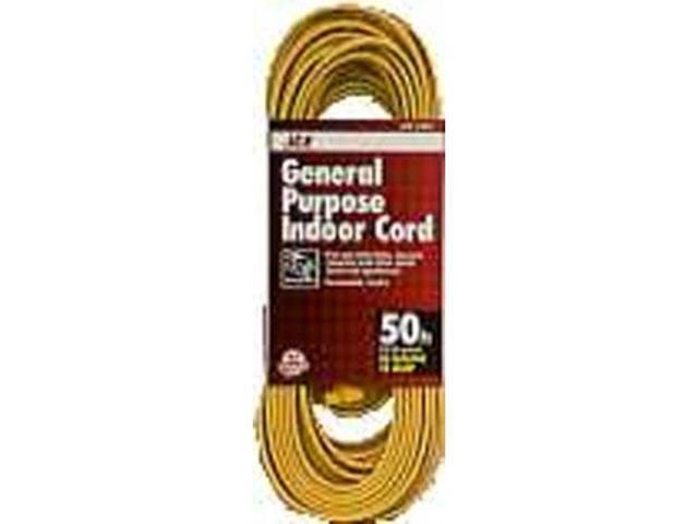 Household Indoor Extension Cord ACE Extension Cords 1FY-002-050FYL 082901318446