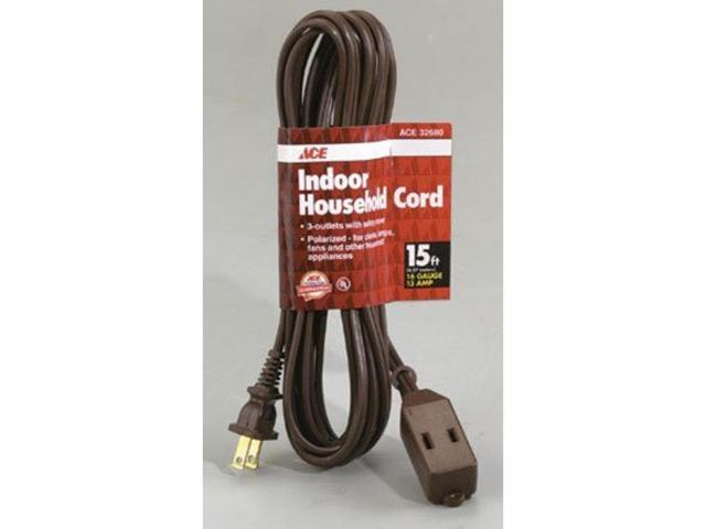 Cube Tap Indoor Household Extension Cord ACE Extension Cords 32680 082901326809
