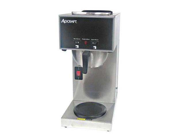 AdCraft Stainless Steel Coffee Brewer CBS-2