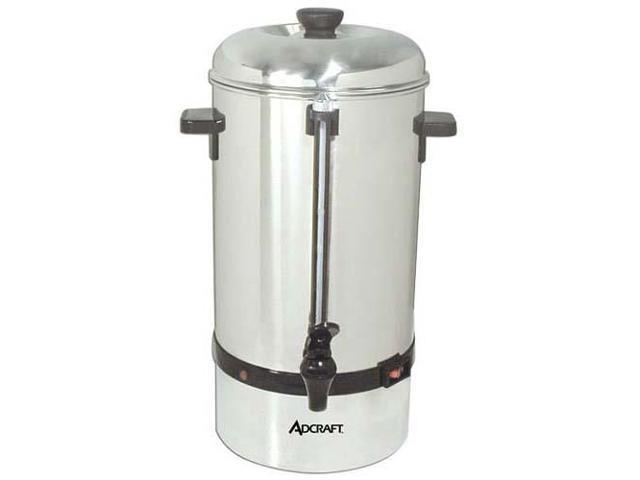 AdCraft 60 Cup Stainless Steel Coffee Percolator CP-60