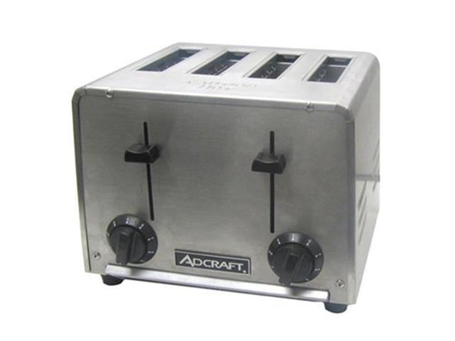 AdCraft Stainless Steel Commercial Grade Toaster CT-04/2200W